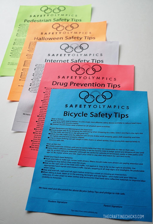 Safety Week - Safety Week Pledges