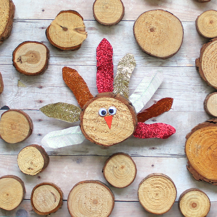 Thanksgiving kids crafts the crafting chicks for Wood craft ideas for kids