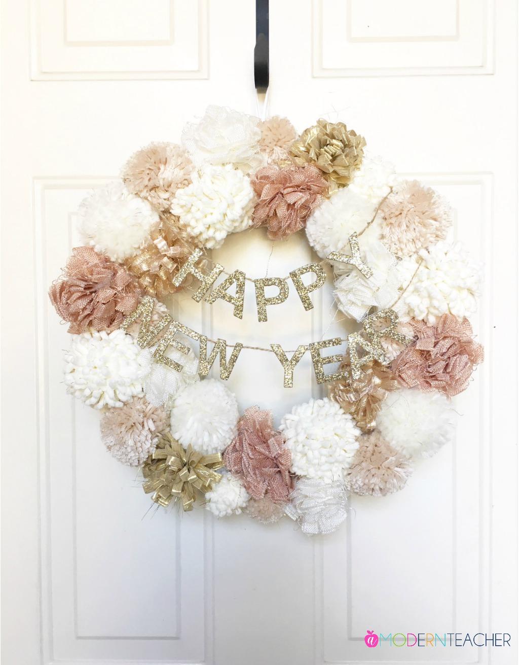 New Years Wreath