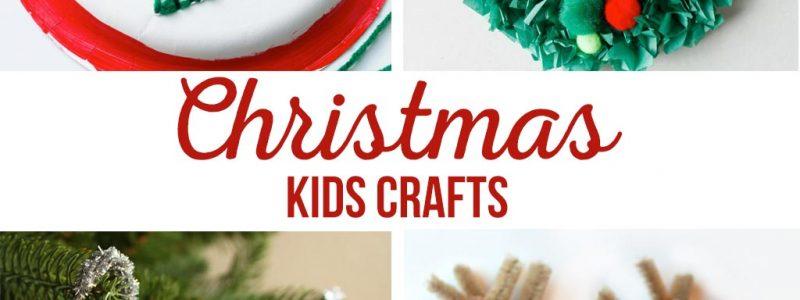 DIY Christmas Kids Crafts | Christmas activities and crafts for kids. Simple kids crafts for play dates and class parties. #christmascrafts #kidscrafts
