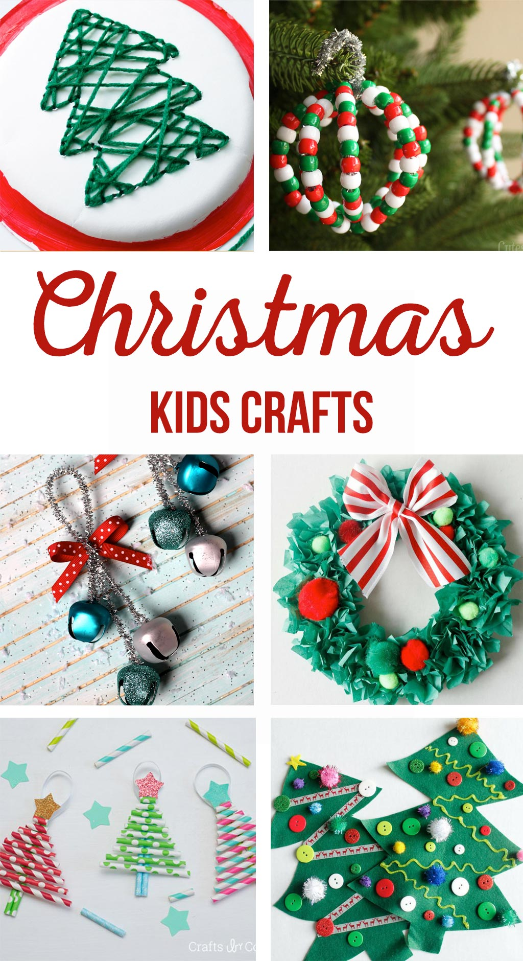 Christmas Kids Crafts - The Crafting Chicks