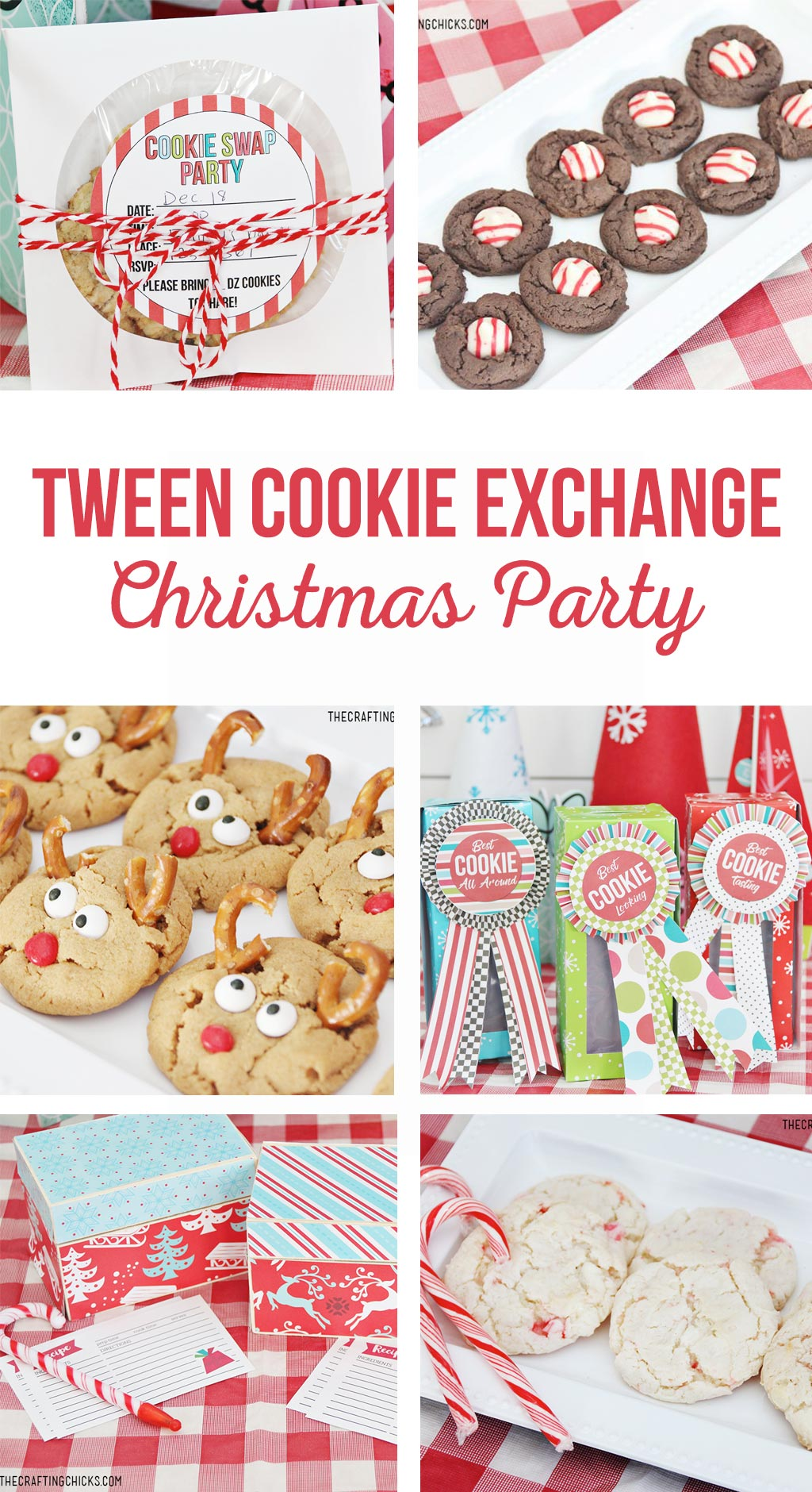 Tween Cookie Exchange Christmas Party - The Crafting Chicks