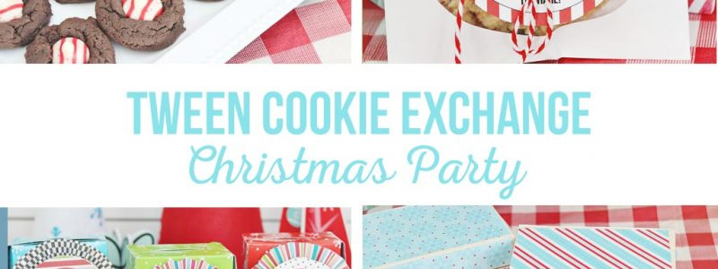 Tween Cookie Exchange Christmas Party