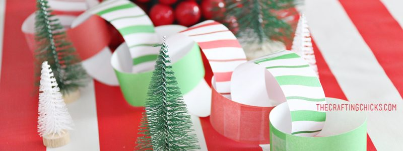 Christmas Breakfast Table Centerpiece