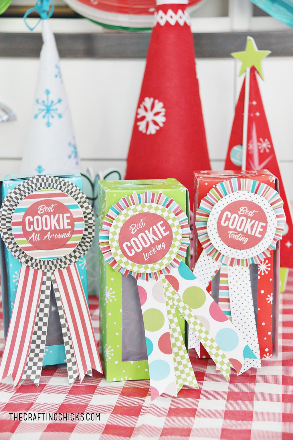 Cookie Exchange Award Printables