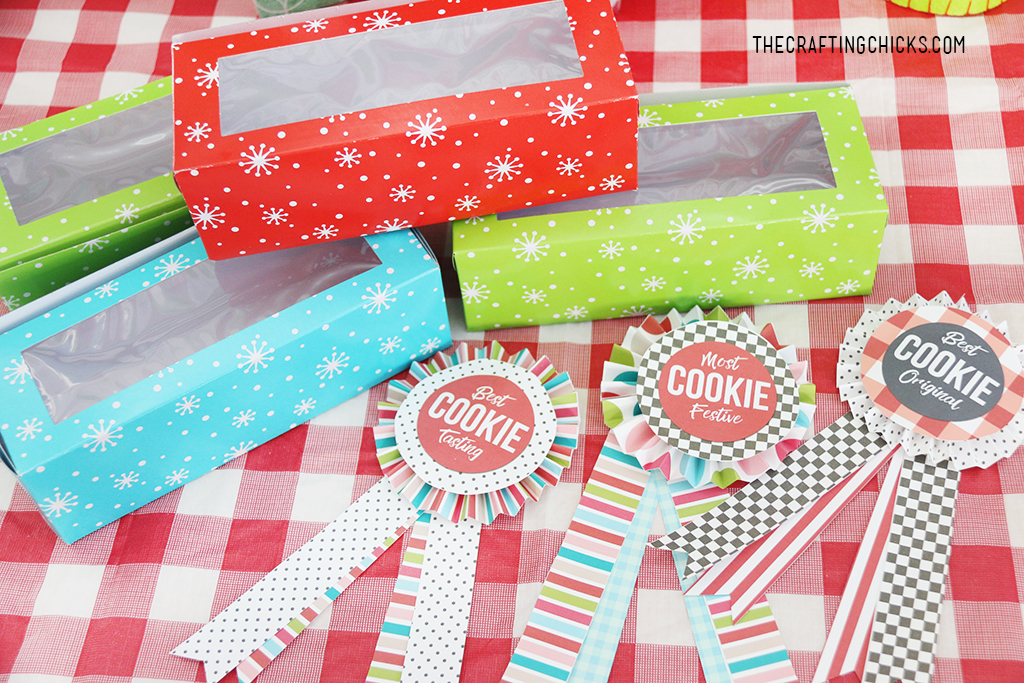 Cookie Exchange Award Printables