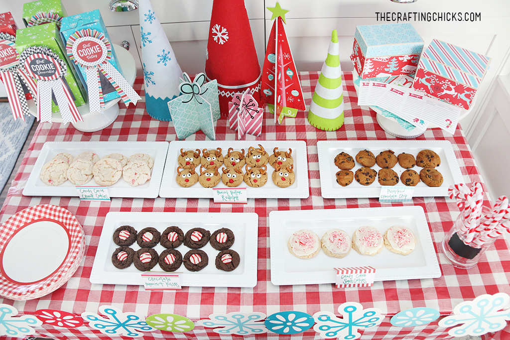 If you have a Cookie Exchange coming up, you need these quick and easy Cookie Exchange Invitations. Perfectly coordinates with all of our Tween Cookie Exchange party ideas.