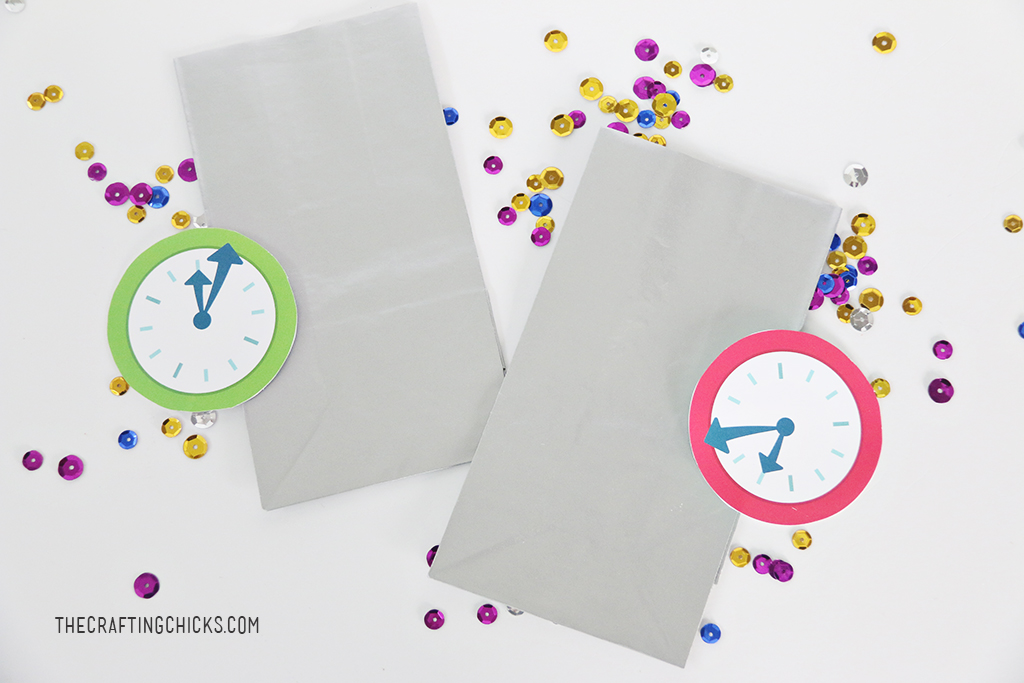 New Year's Eve Kids' Countdown Bags
