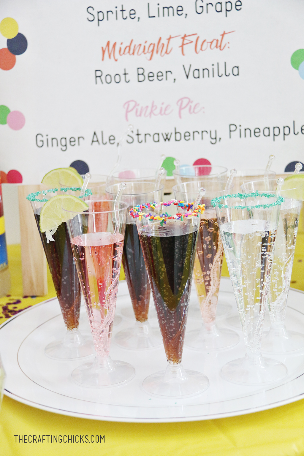 Kids' Mocktail drinks for New Year's Eve, Mocktails for Kids'