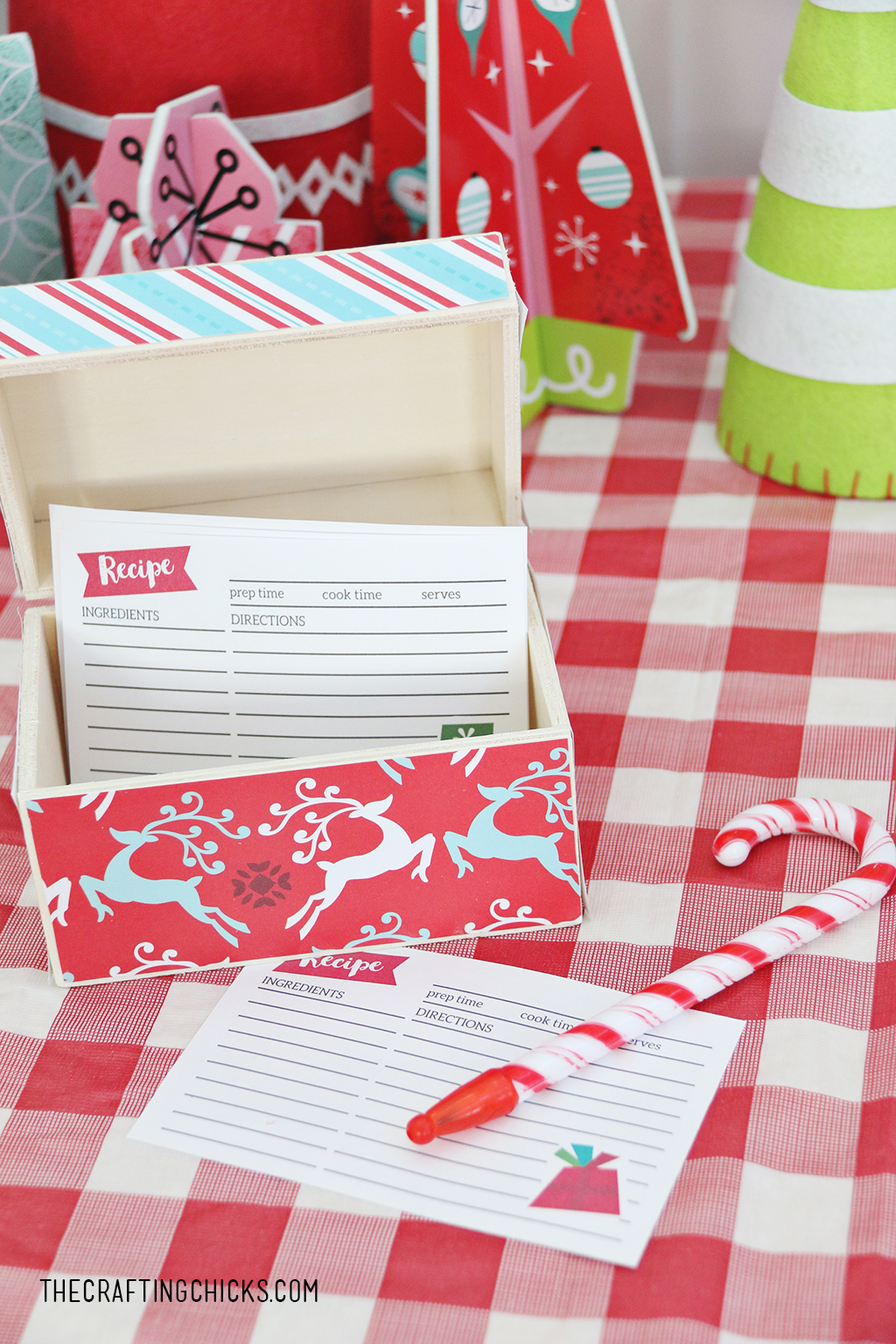 Tween Cookie Exchange Party Recipe Cards