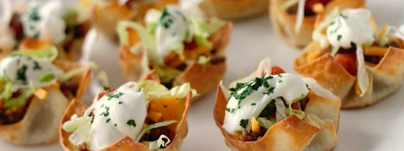 Mini Taco Cups – A Quick & Easy Appetizer
