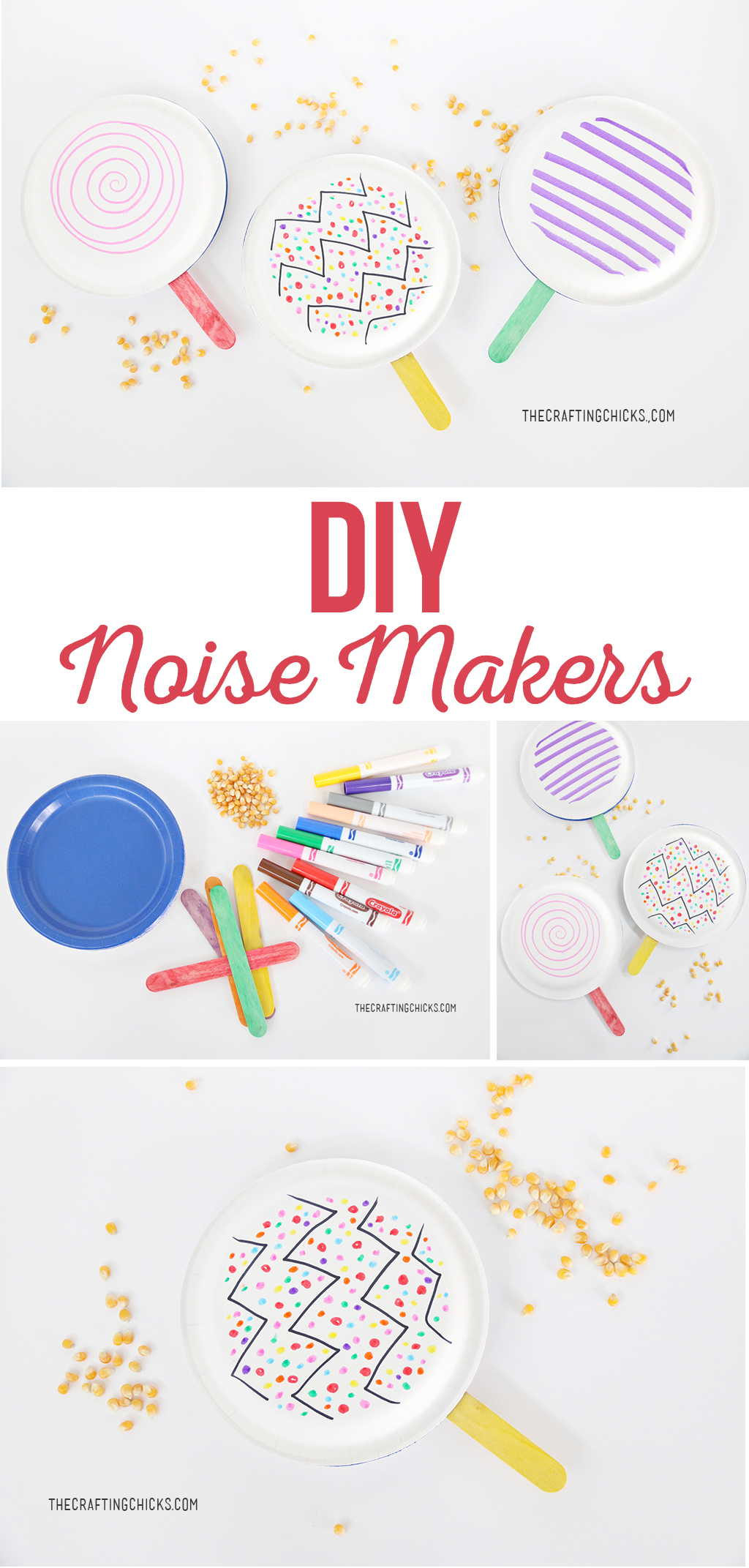 DIY Noisemakers