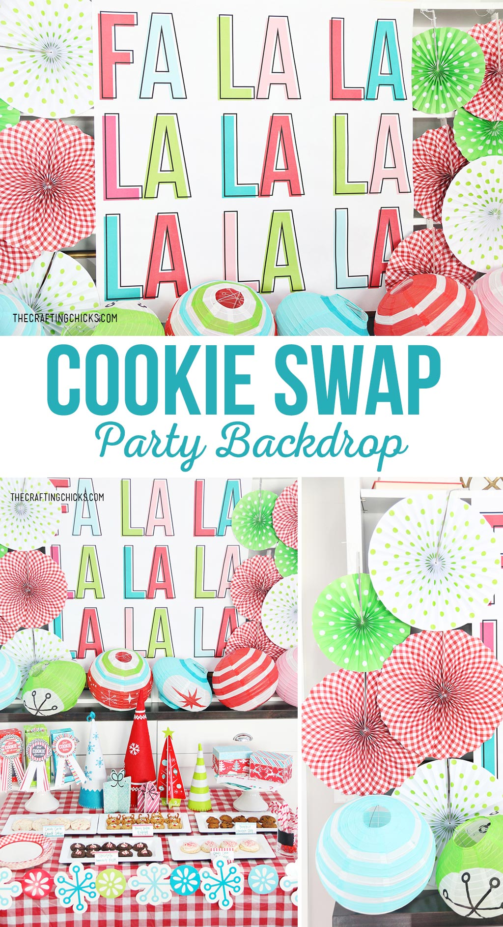 Printable Party Backdrop