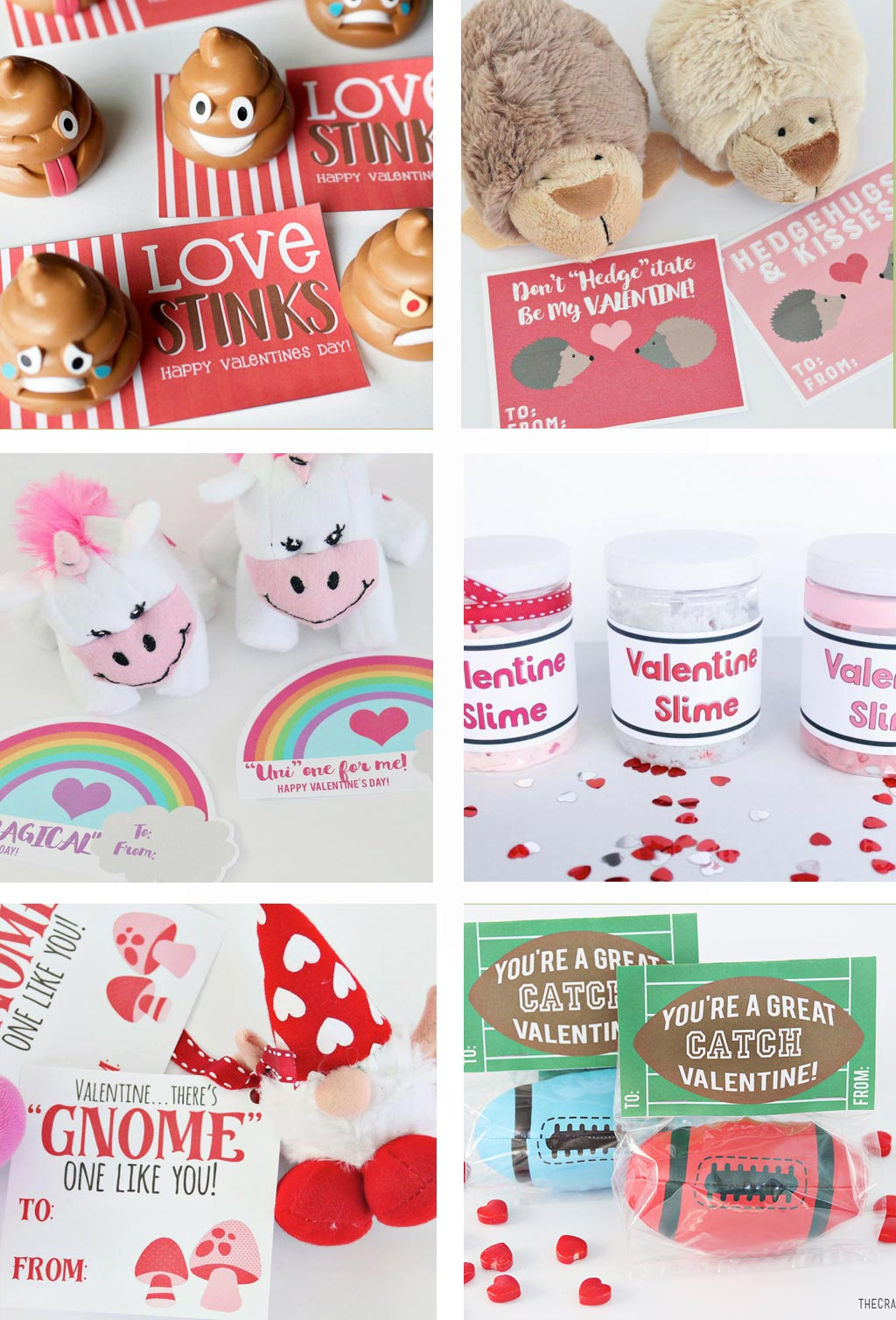 Favorite Valentine Printables | Valentines for class parties, teachers and friends.