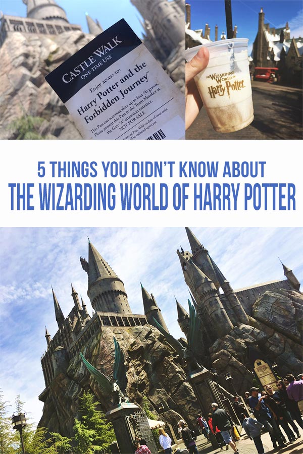 We show you five things you didn't know about the Wizarding World of Harry Potter at Universal Studios Hollywood. Find out some of our favorite secrets that will make your vacation even more magical.