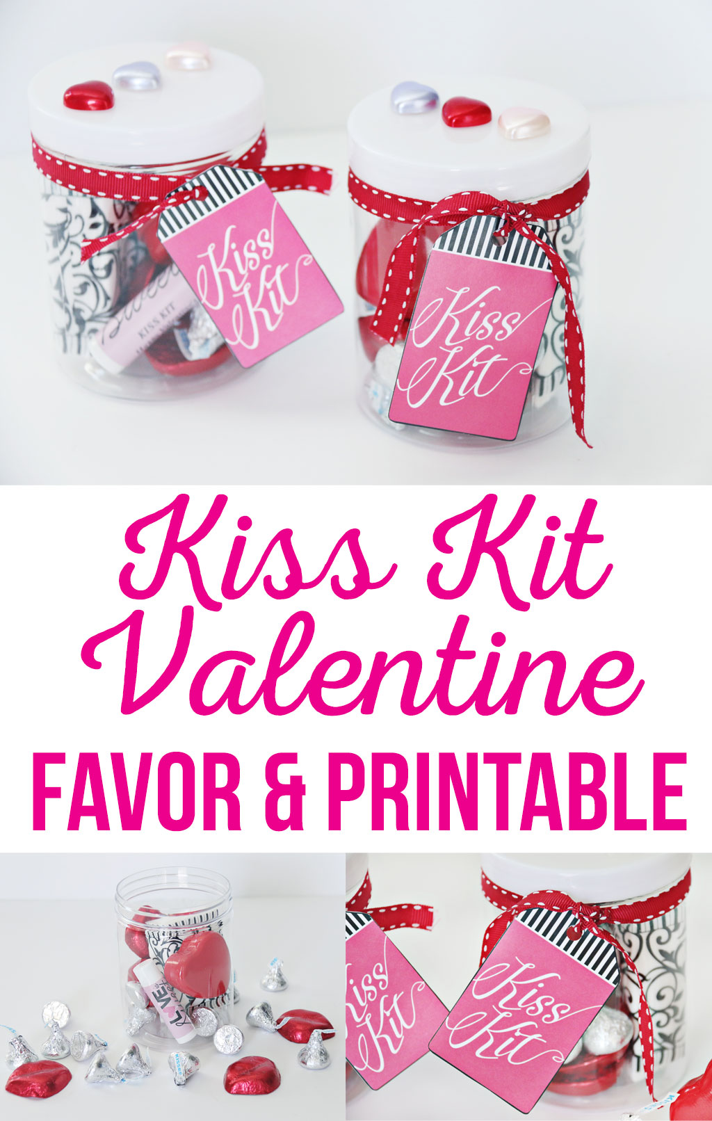 Kiss Kit Valentine Favor and Printable