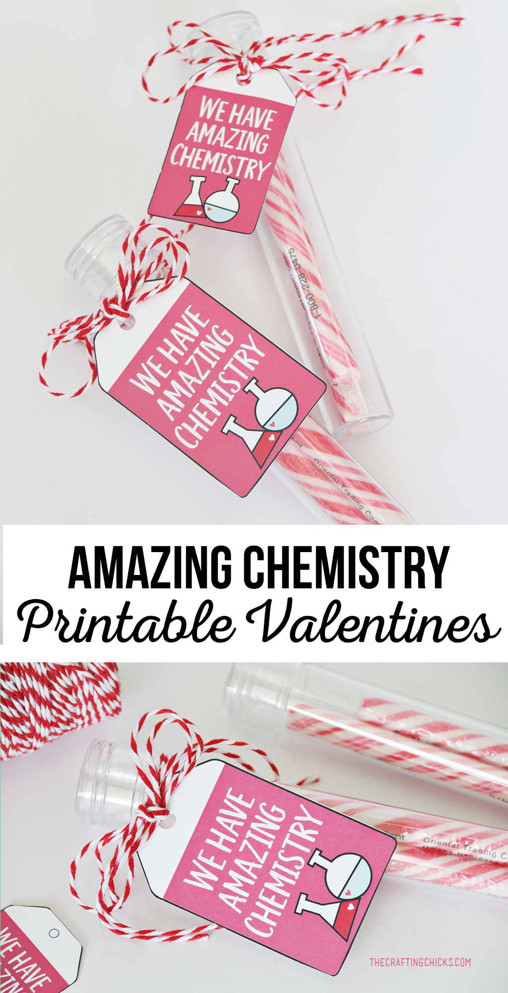 "This adorable ""We Have Amazing Chemistry"" Printable Valentine is a perfect for anyone. Great for kids to hand out in school or to take to neighbors and friends."