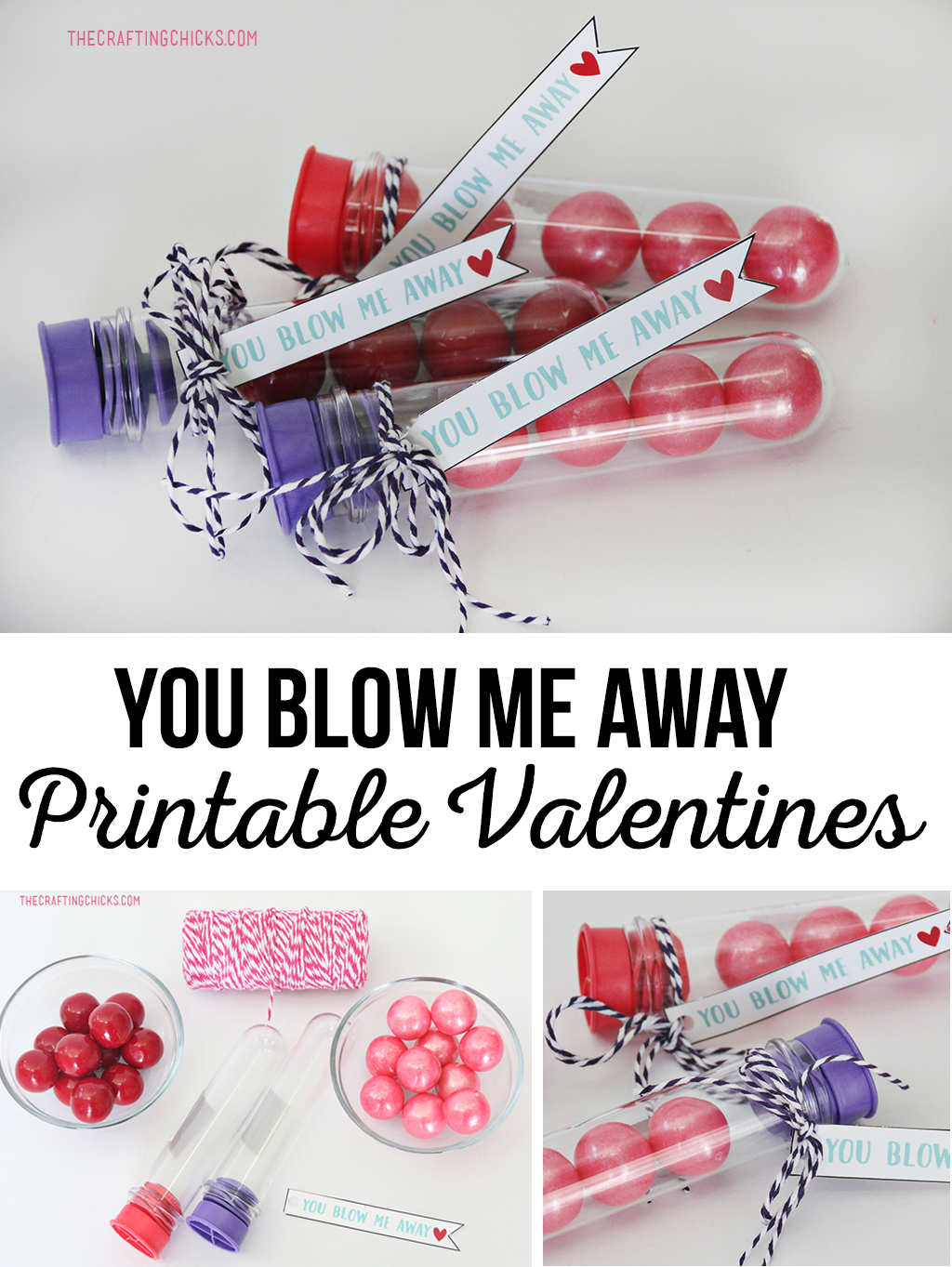 photograph regarding You Blow Me Away Valentine Printable titled Oneself Blow Me Absent Printable Valentine - The Writing Chicks