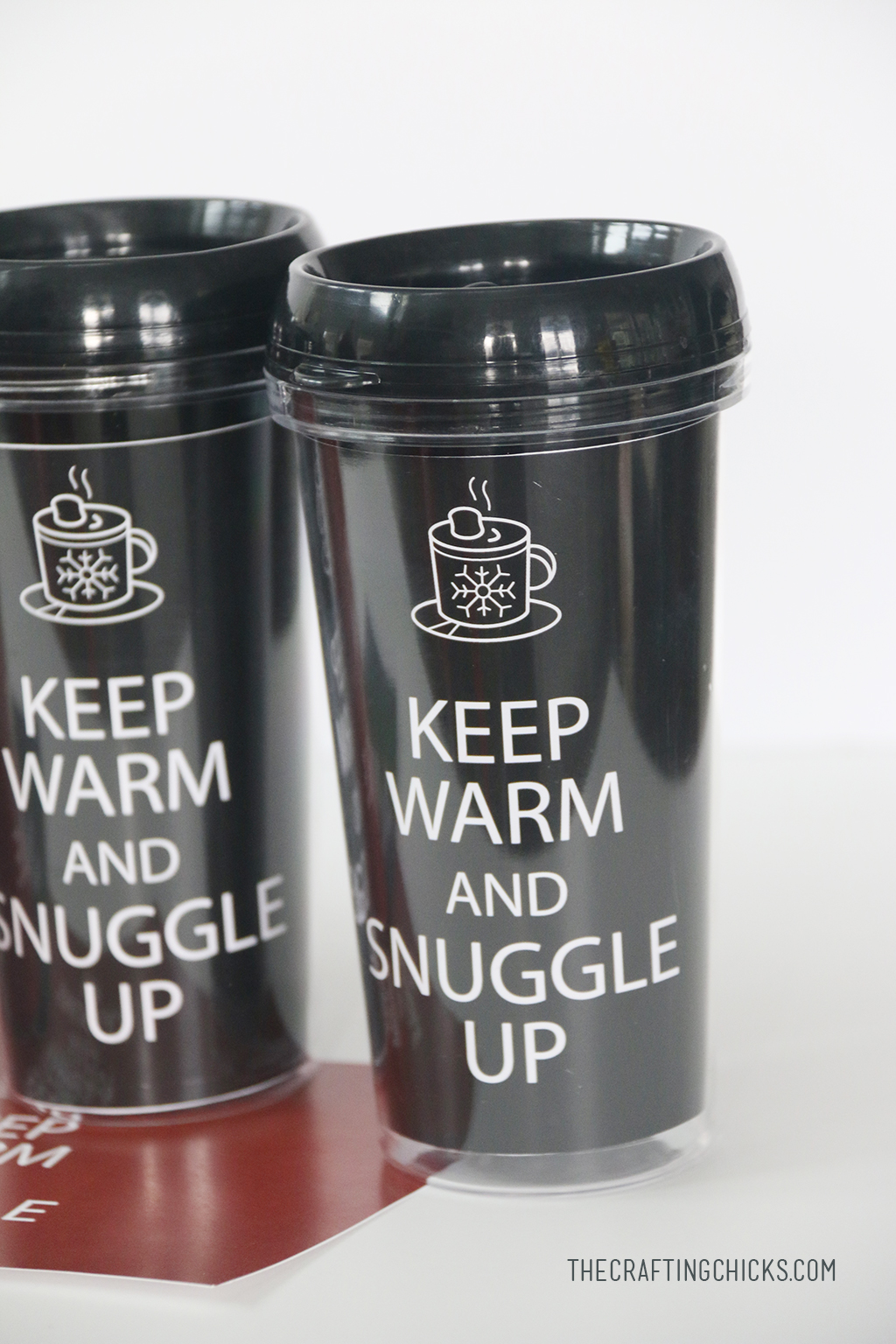 Keep Warm and Snuggle Up DIY Tumbler Printables