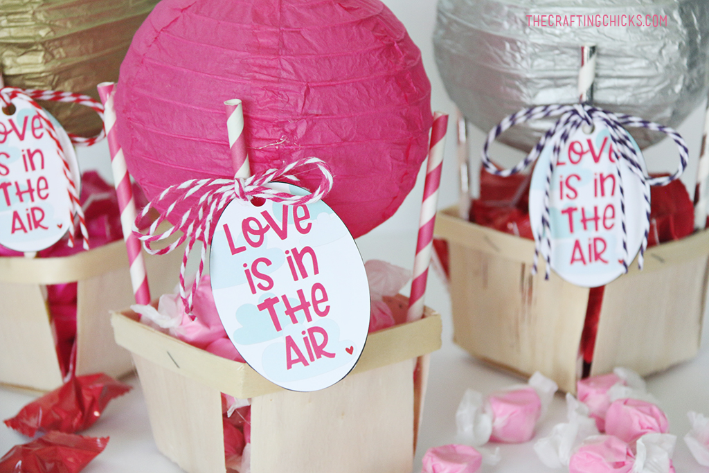 Love is in the Air Printable Valentine