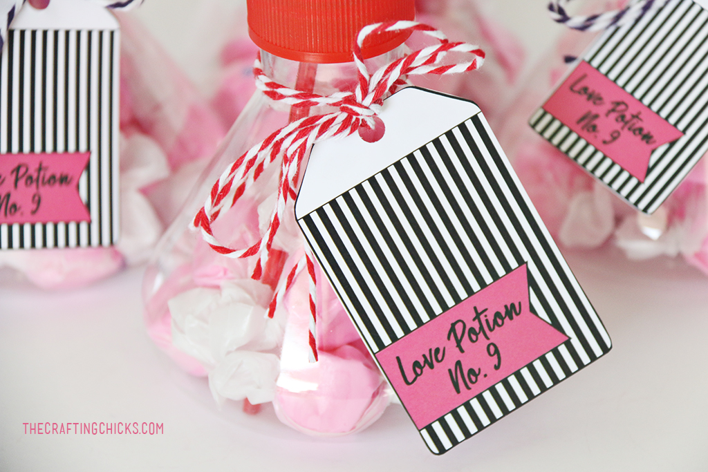 Love Potion No 9 Printable Valentine