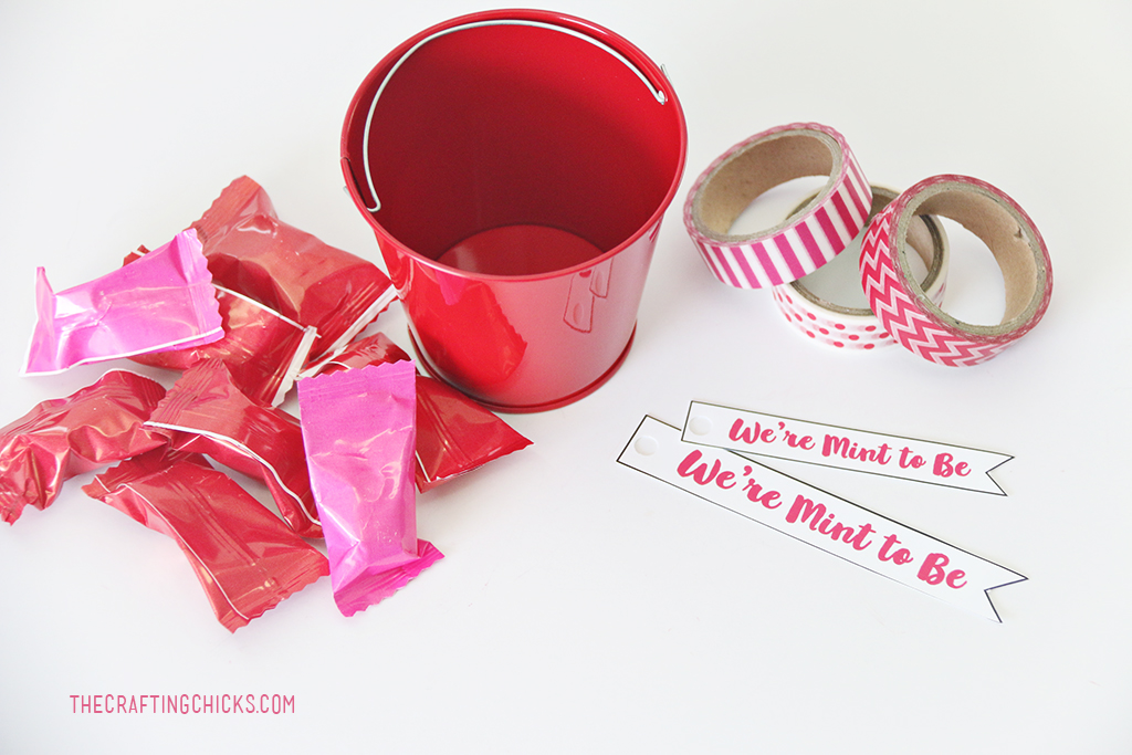 We're Mint to Be Printable Valentines