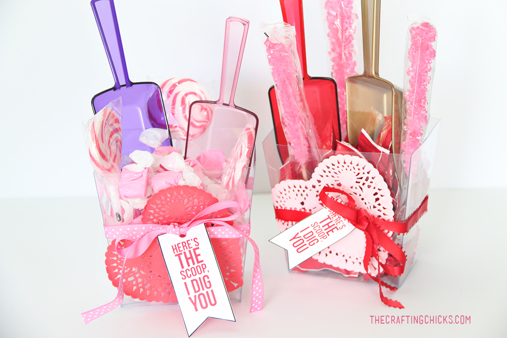 Here's the Scoop Free Valentine printable.