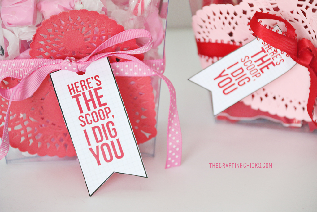 Here's the Scoop I Dig You Free Valentine Printable is the perfect way to show someone you care for Valentine's Day. This is perfect for kids or adults. Anyone will love getting this adorable Valentine.