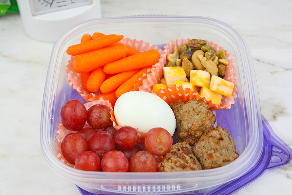 Meatball Protein Packed Lunch Kit