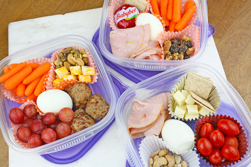 Protein Packed Meal Prep Lunch Kits