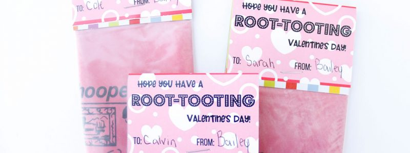Have A Root-Tooting Valentines Day Printable