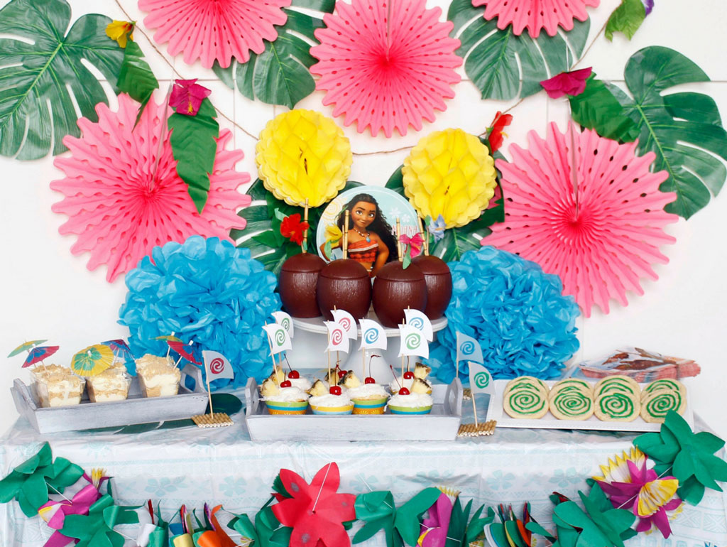 Ideas for A Moana Themed Birthday Party