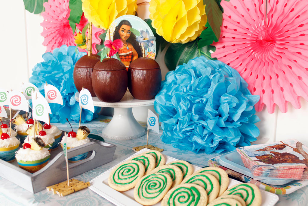 Ideas For A Moana Themed Birthday Party The Crafting Chicks