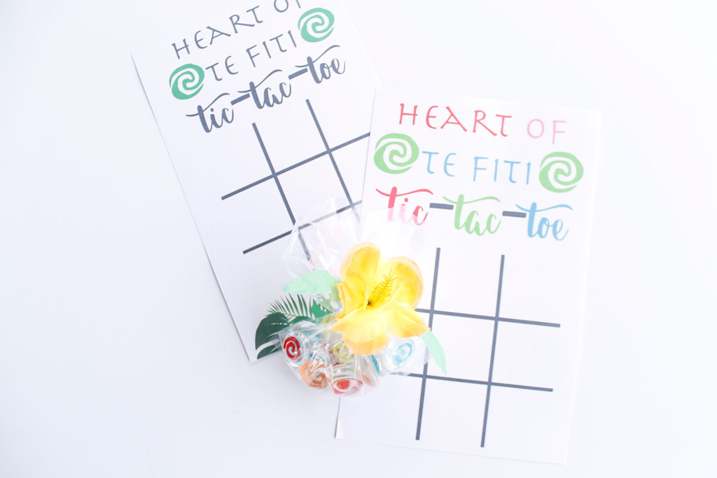 Heart of Te Fiti Tic-tac-toe printable game