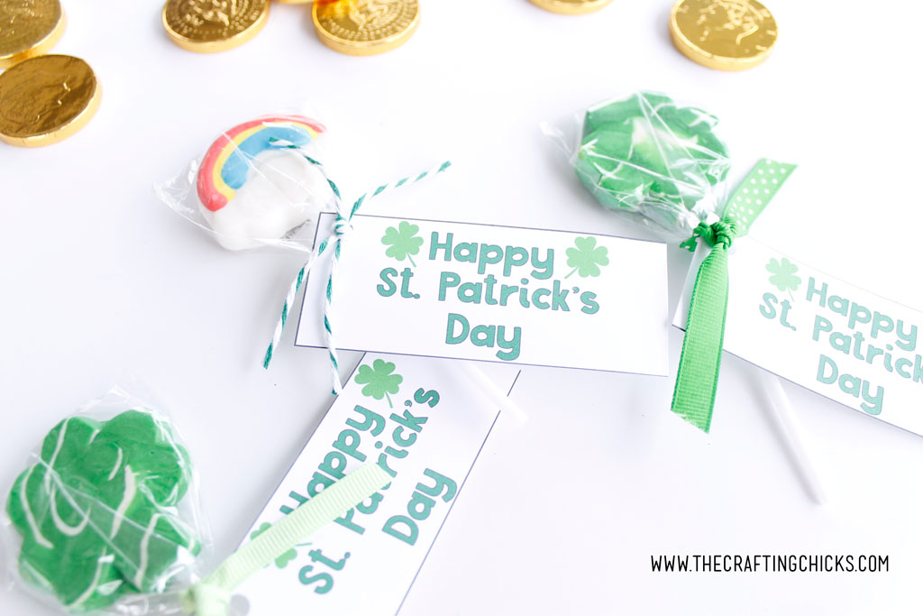 Free Printable St. Patrick's Day Treat Tags
