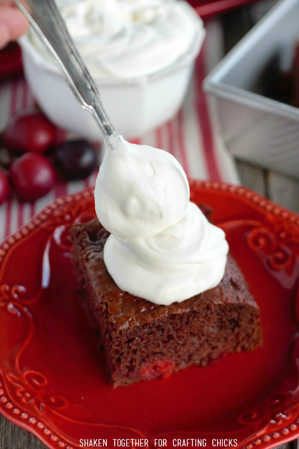 The Easiest Black Forest Cake Recipe - just 4 ingredients!