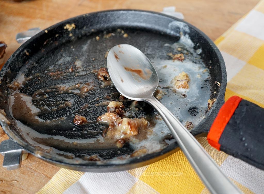 Empty Skookie Pan