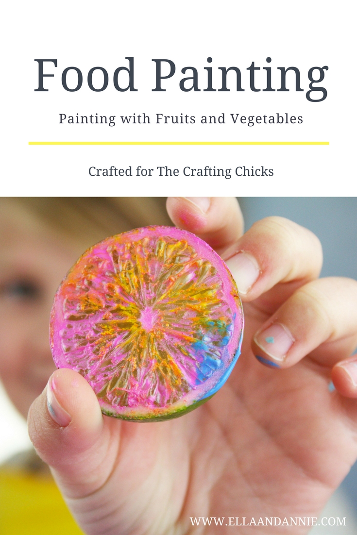 Open up your fridge for art time today! Painting with Fruit and Vegetables is a fun way for kids to see different shapes and textures in everyday life. They will love this activity!