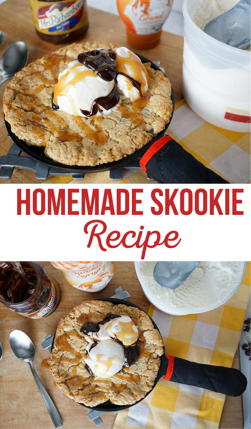The BEST Homemade Skookie Recipe | Skookies = skillet + cookies | Whatever you want to call this dessert of deliciousness... these are amazing!