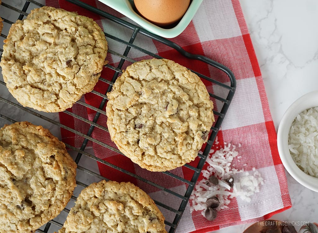 Oatmeal Coconut Chocolate Chip Cookie Recipe