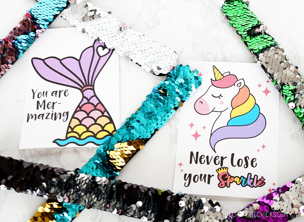 Mermaid and Unicorn Printables