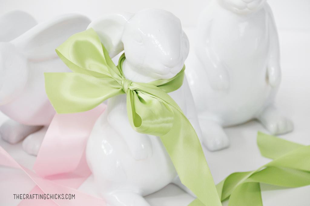 DIY Ceramic Bunnies