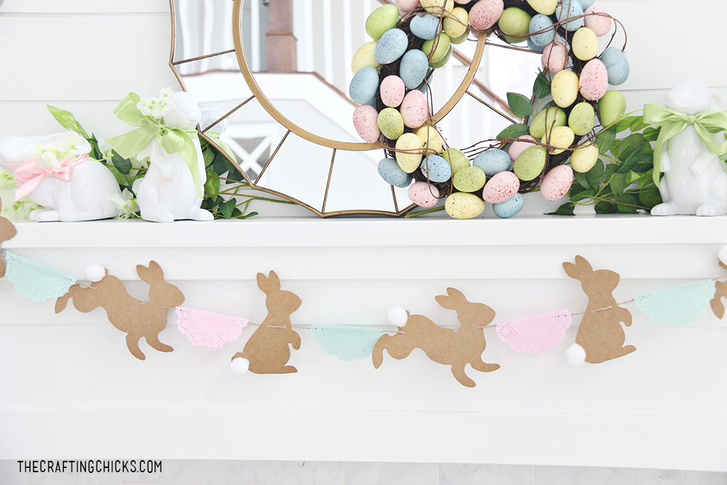 Sweet & Simple Easter Mantle