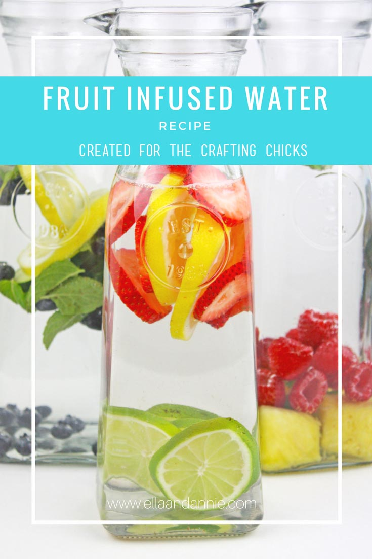 Delicious fruit infused water recipes that can not only help curb soda cravings but also keep you hydrated throughout your day!