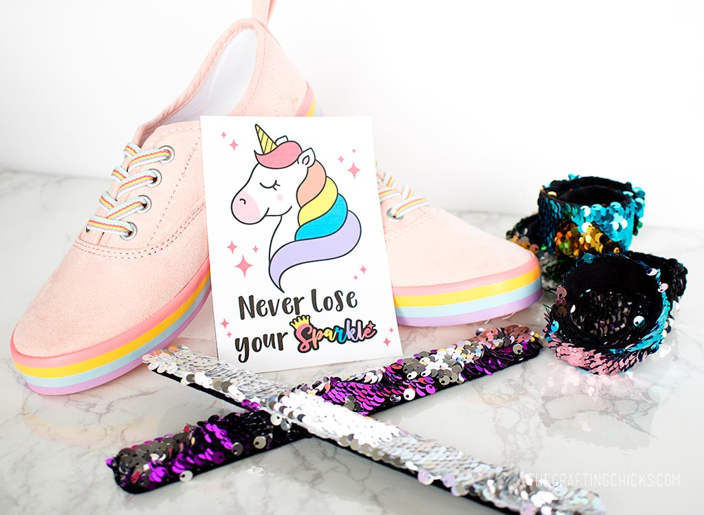 Rainbow Unicorn Printable