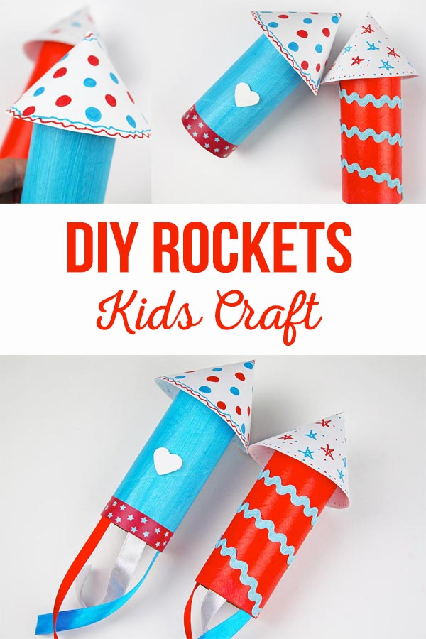 DIY Rockets Kids Craft