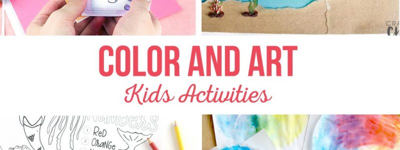 Color and Art Kids Activities
