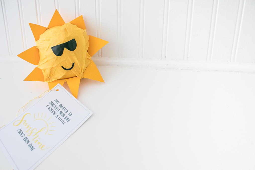 Sunshine Surprise Ball Gift Idea