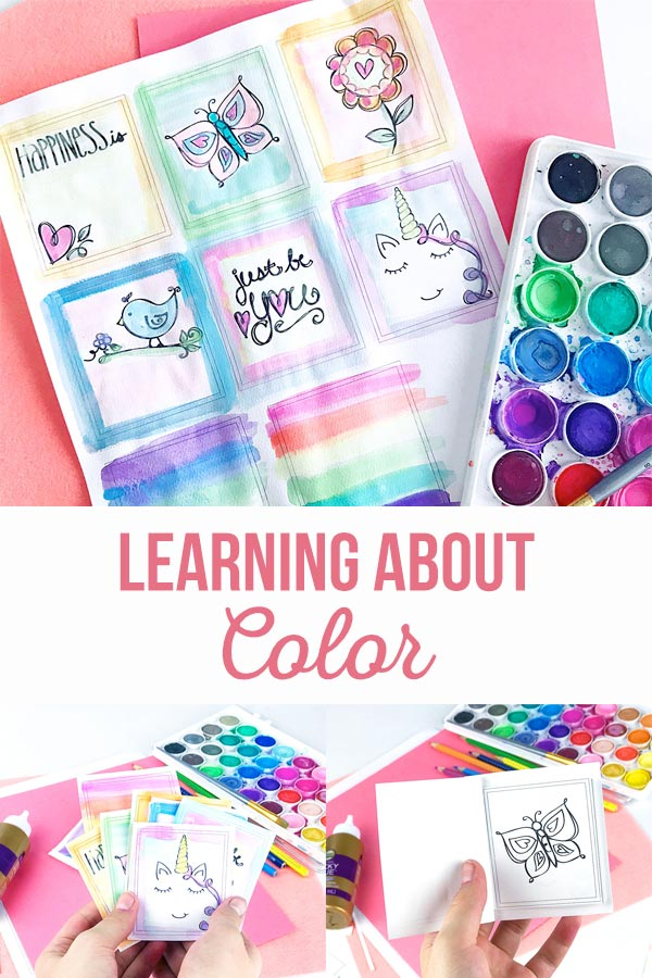 Learning About Color By Coloring
