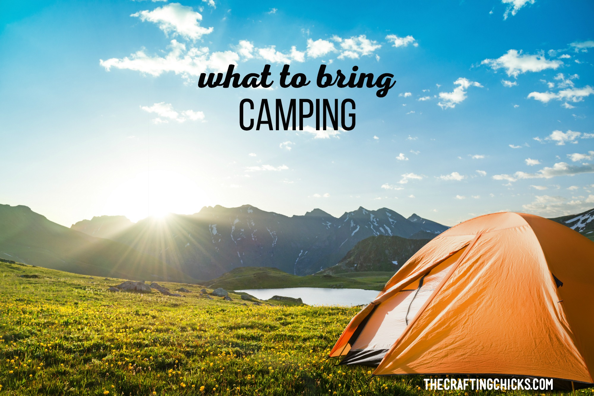 What to Bring Camping | Camping season is here! We should start planning what to bring camping because you can never start preparing too soon... especially if you have a family to bring along. Here's our list of What to Bring Camping. #camping #packing #tips